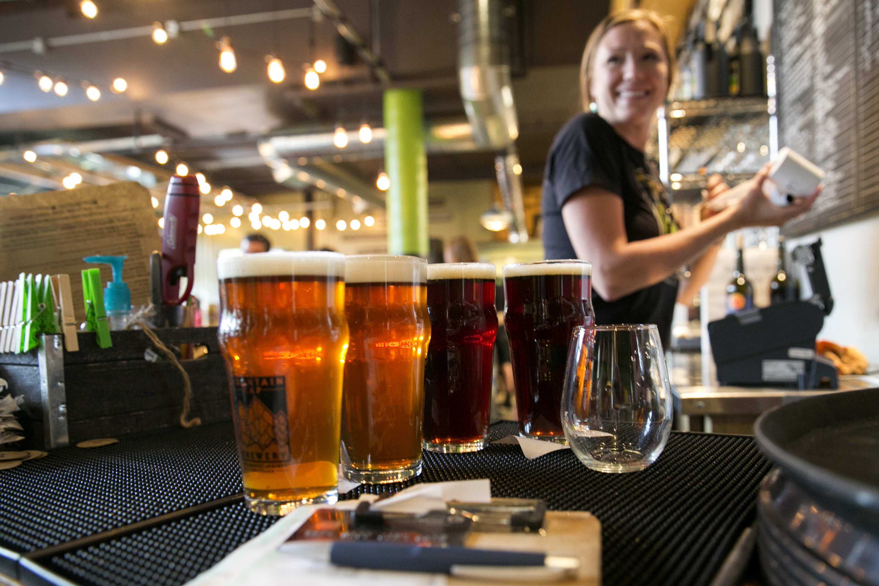 <p>The Mountain Tap Brewery in Steamboat Springs.</p>