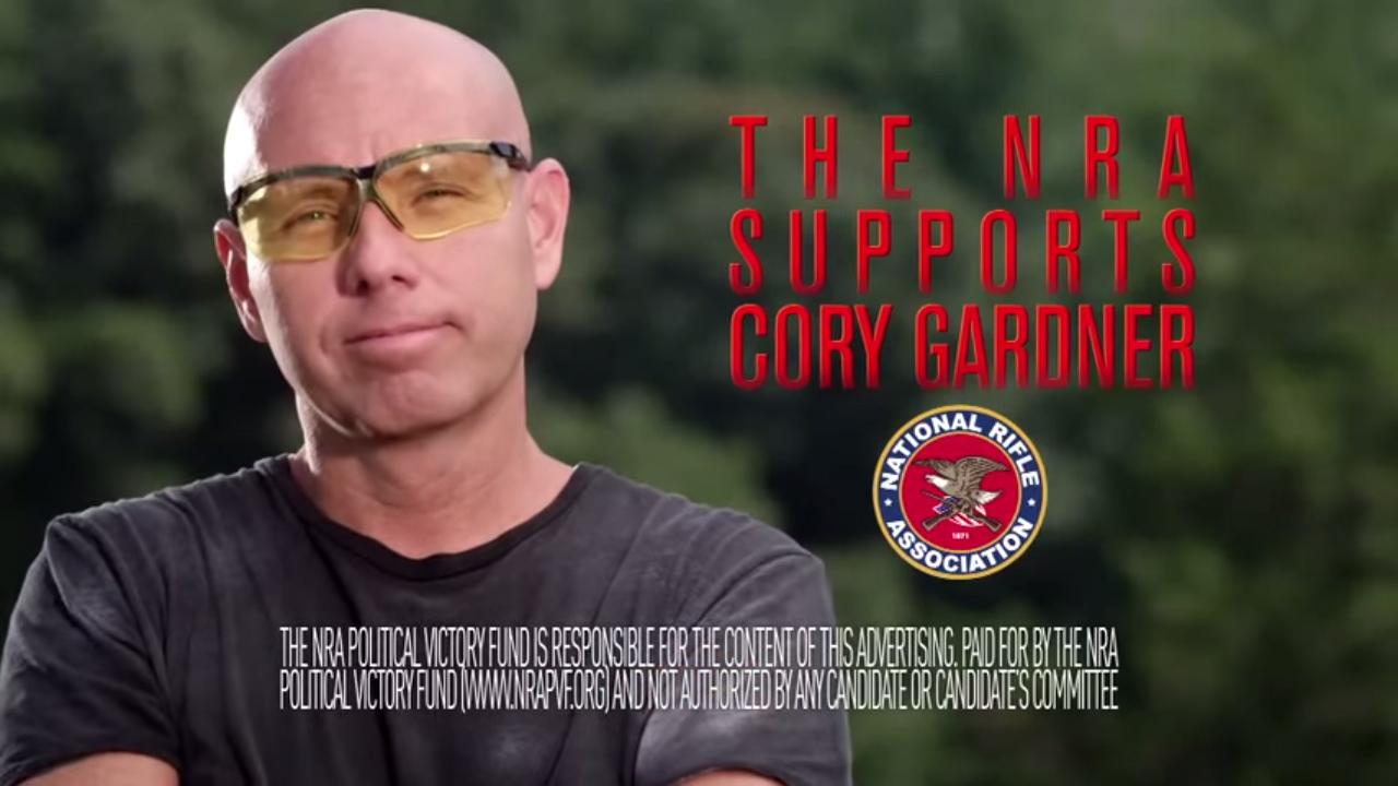Photo: NRA Gardner ad