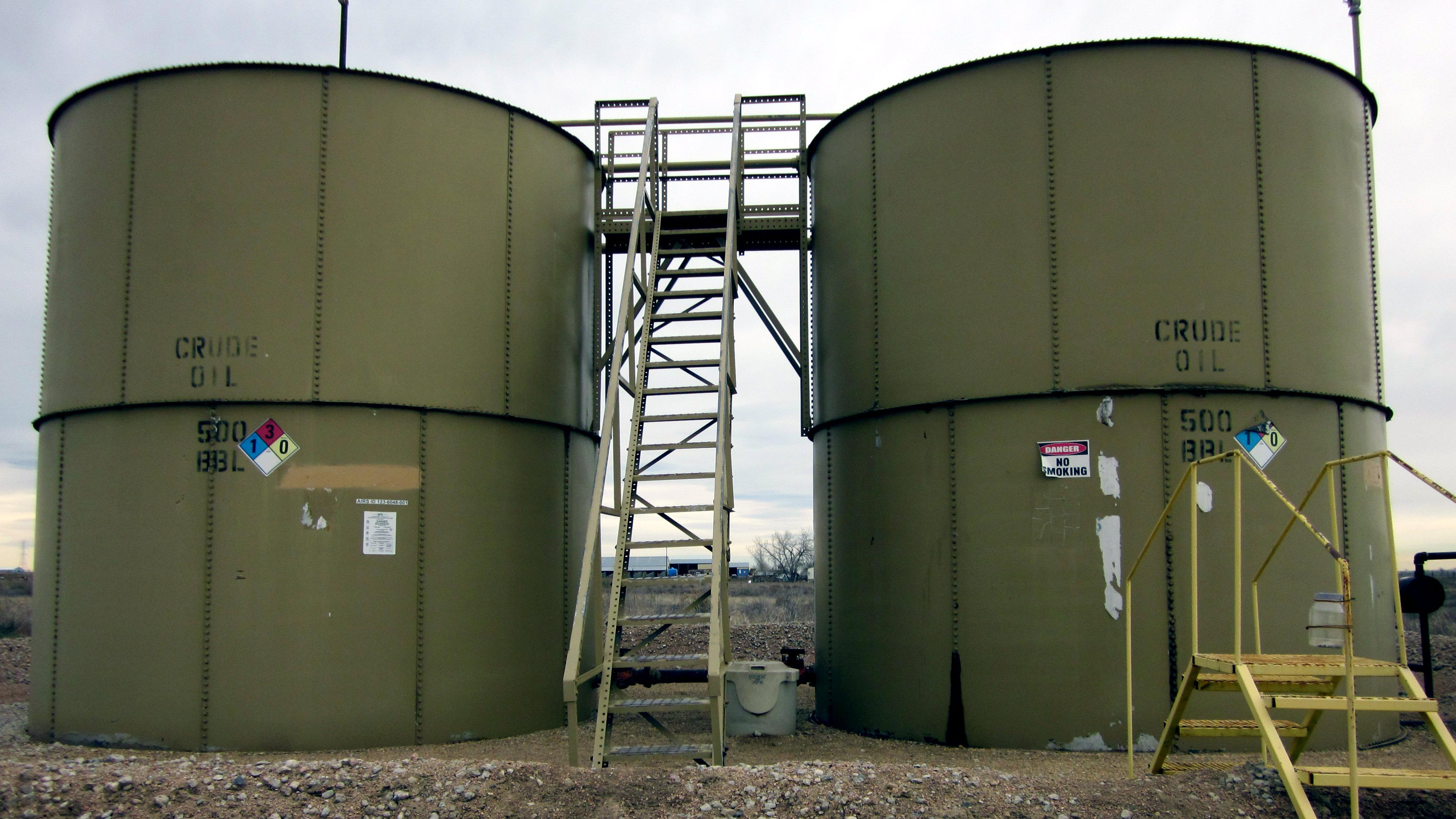 Photo: oil tanks