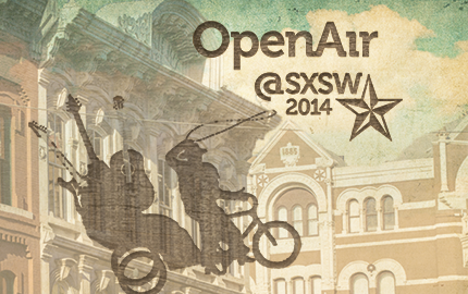 photo: OpenAir at SXSW 2014 graphic