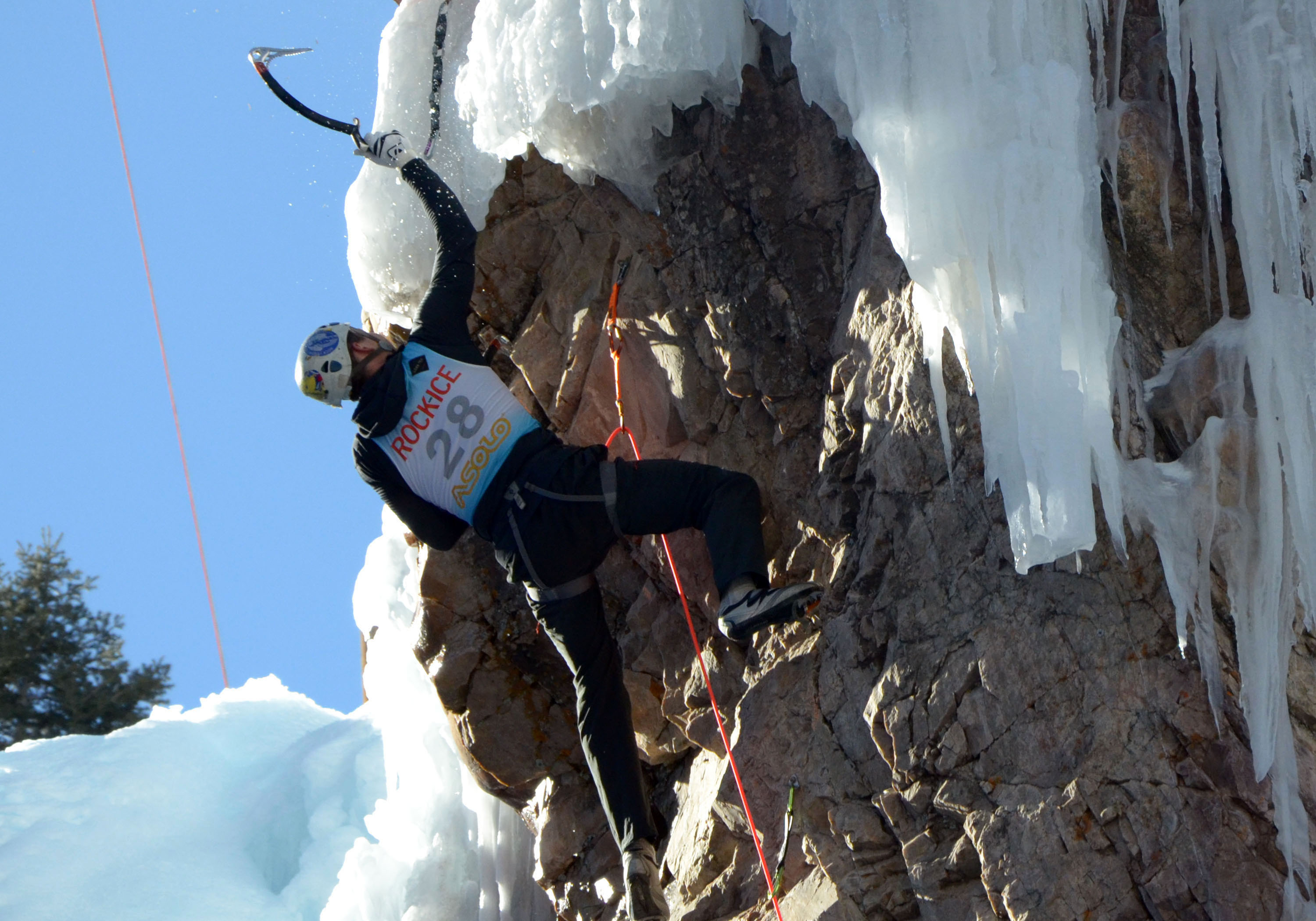 Ouray Ice Festival 2015: Phil Wortmann