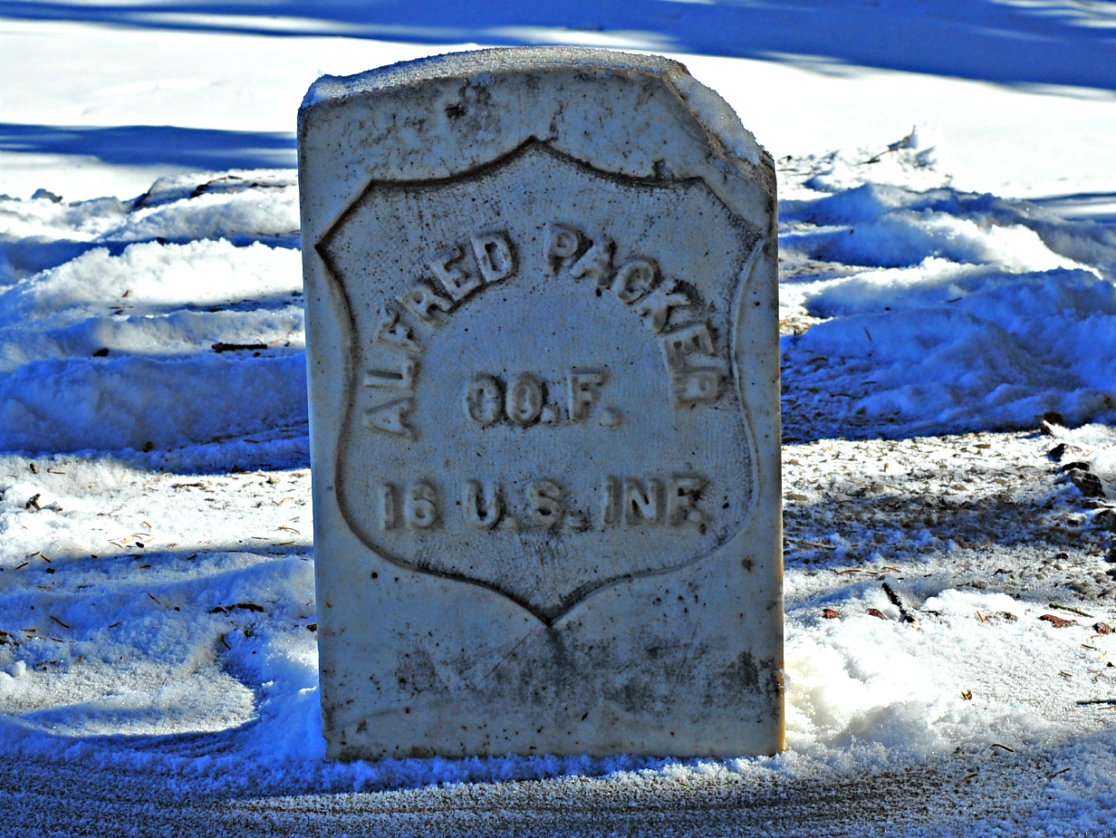 Photo: Alfred Packer Tombstone