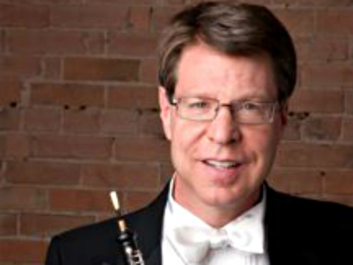 <p>Oboist Peter Cooper of the Colorado Symphony</p>