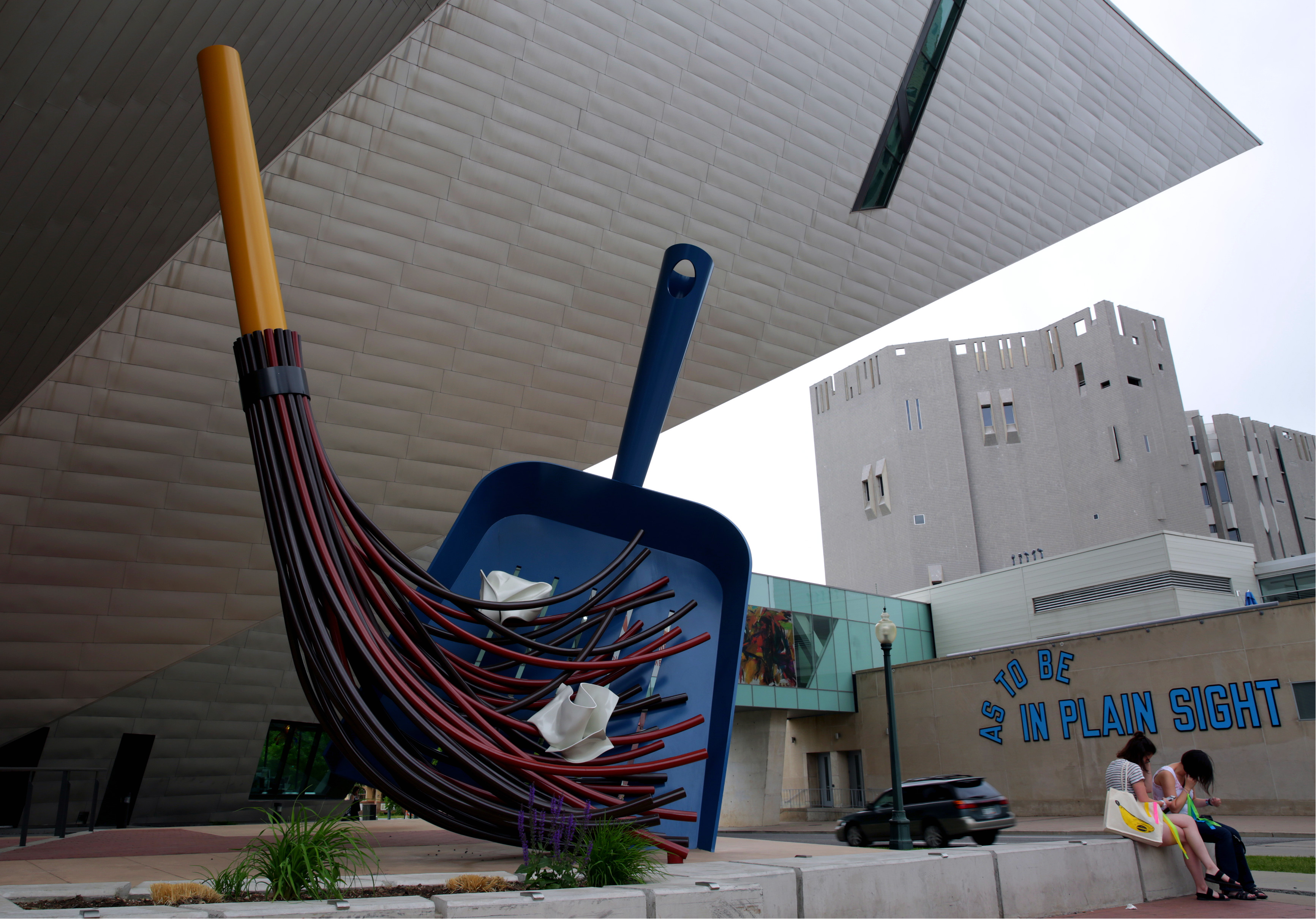 """<p><span style=""""color: rgb(64, 69, 64); background-color: rgb(255, 255, 255);"""">The """"Big Sweep""""</span> sits outside theDenver Art Museum in theGolden Triangle neighborhood, which was certified as a creativedistrict by the state of Colorado in June 2016.</p>"""