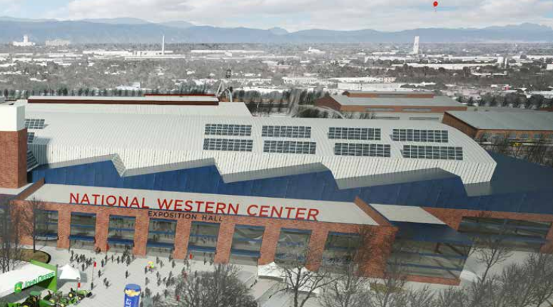 Photo: National Western Stock Show Future mockup rendition