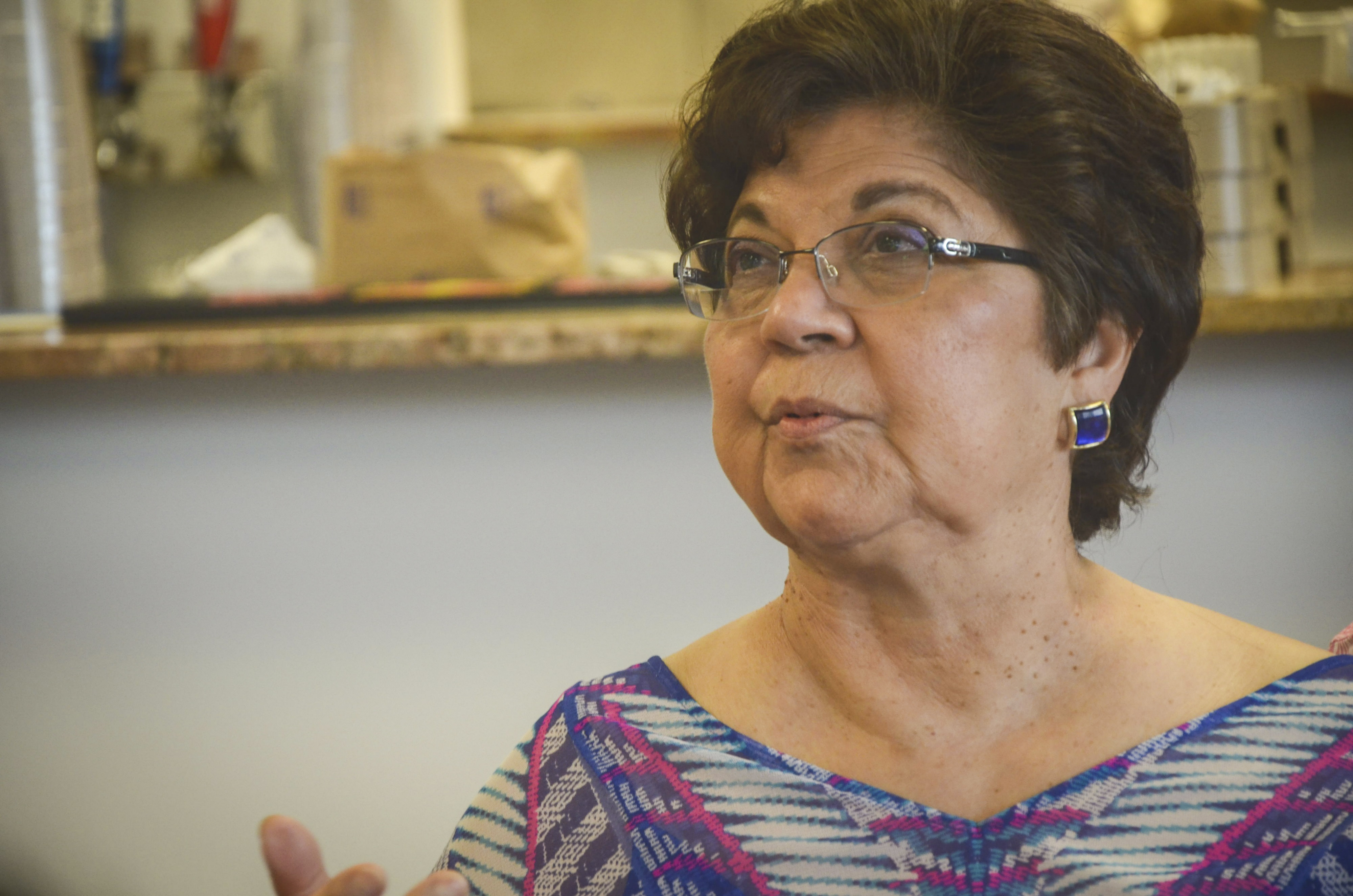 <p>Former state Sen. Polly Baca of Denver attended her 14th Democratic National Convention this summer as a delegate for Democratic presidential nominee Hillary Clinton.</p>