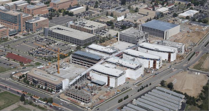 Photo: VA hospital in Aurora aerial shot