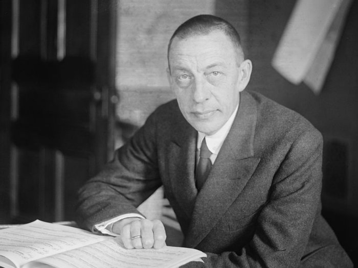 <p>Composer and pianist Sergei Rachmaninoff</p>