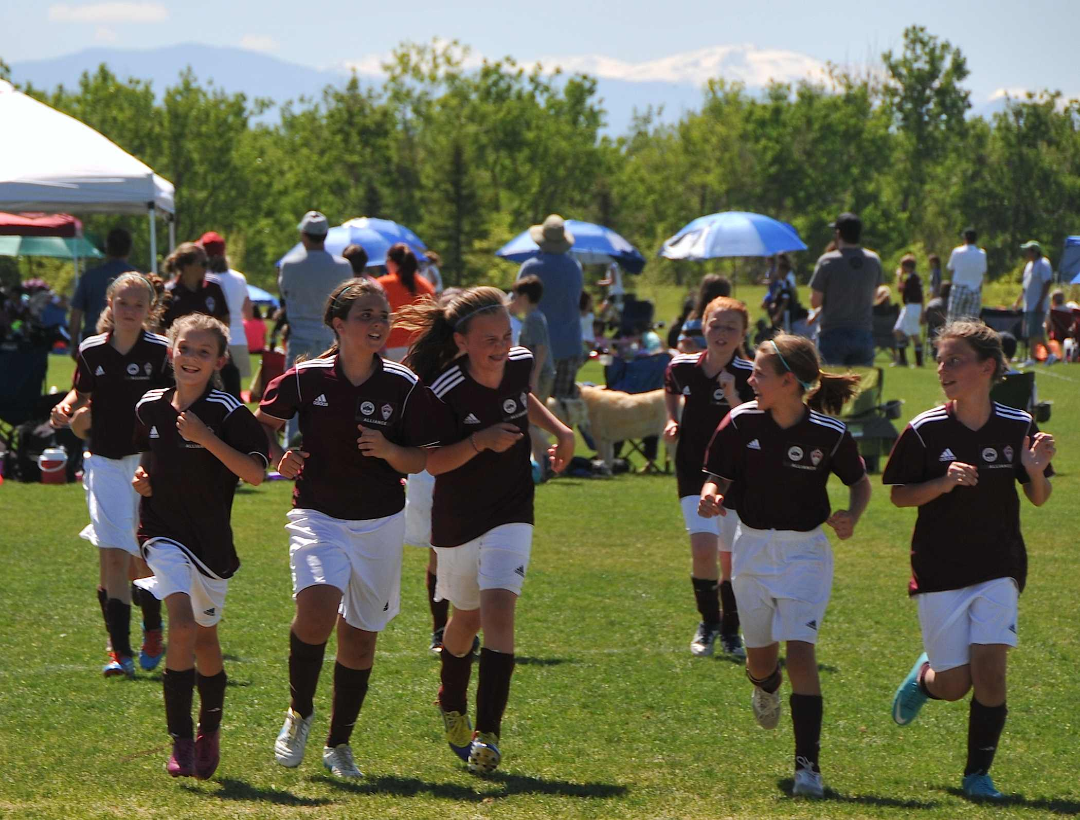 Photo: Players with Colorado Rapids youth team