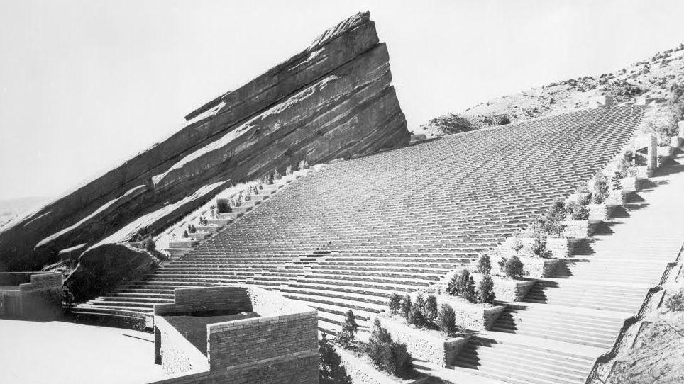 Photo: Red Rocks circa 1940s