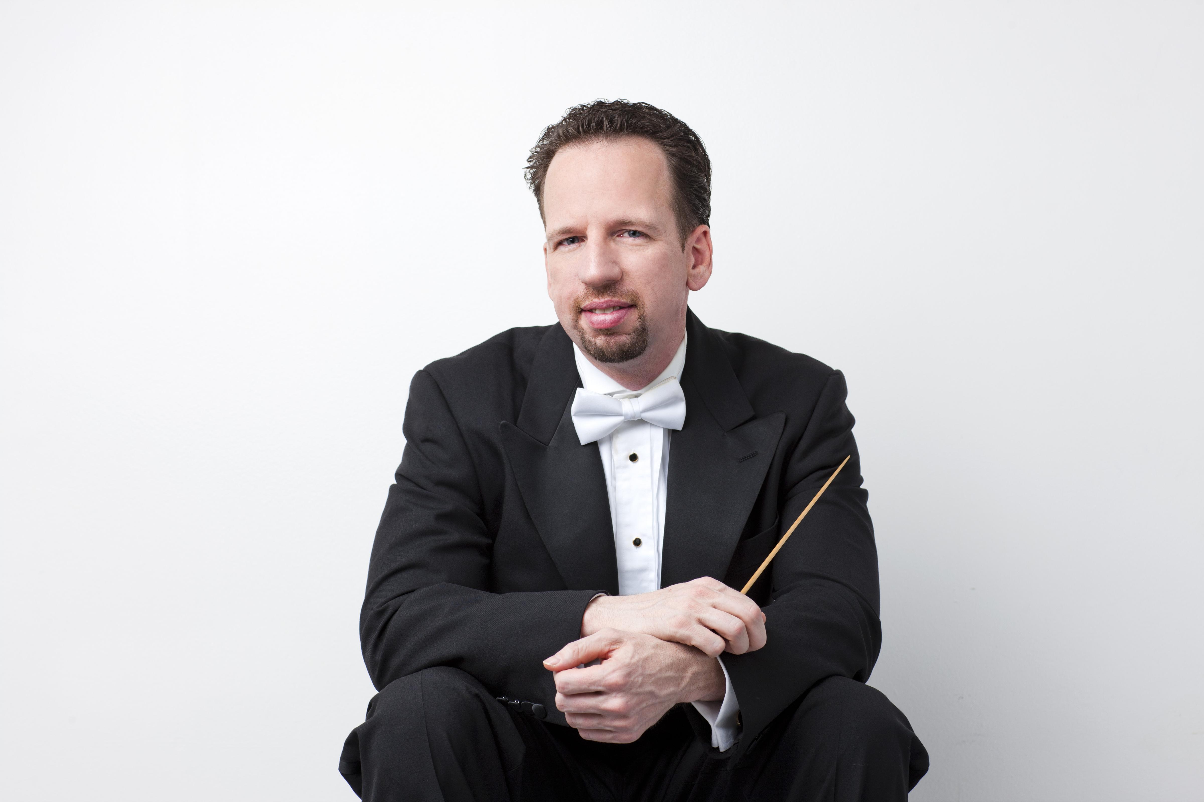<p>The Colorado Symphony's outgoing resident conductor, Scott O'Neil.</p>
