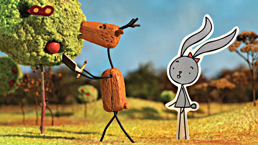 "<p>Peter Caz's 16-minute film ""Rabbit and Deer,""  a story about two friends whose relationship faces a challenge, will be featured at this year's Aspen Shortsfest.</p>"