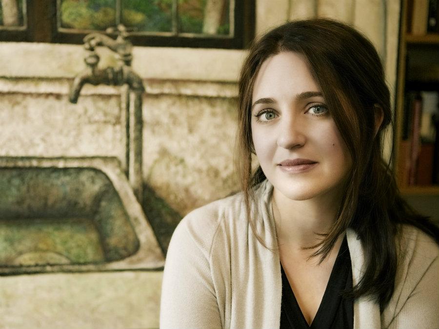 <p>Pianist Simone Dinnerstein</p>