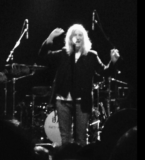 <p>Patti Smith at Webster Hall</p>