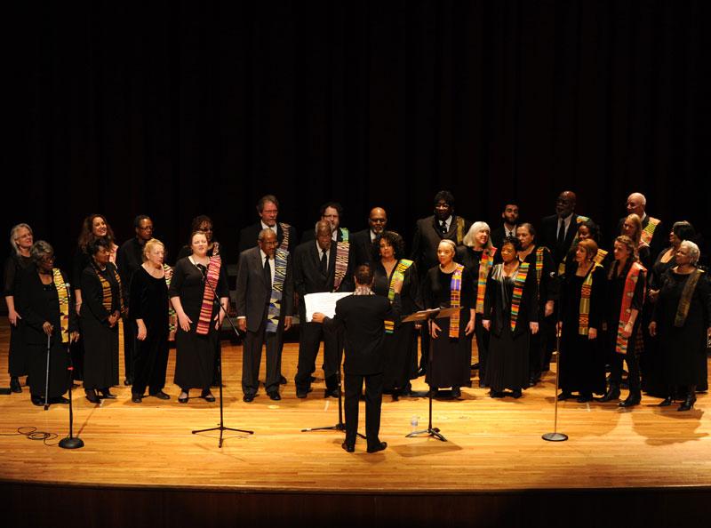 <p>The Spirituals Project Choir</p>