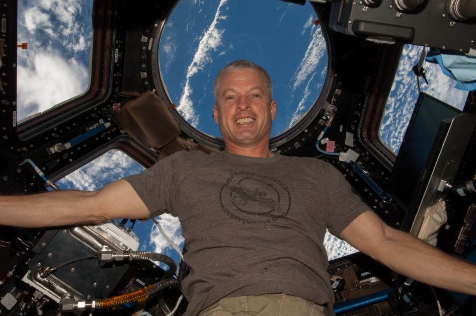 PHOTO: Steve Swanson in space