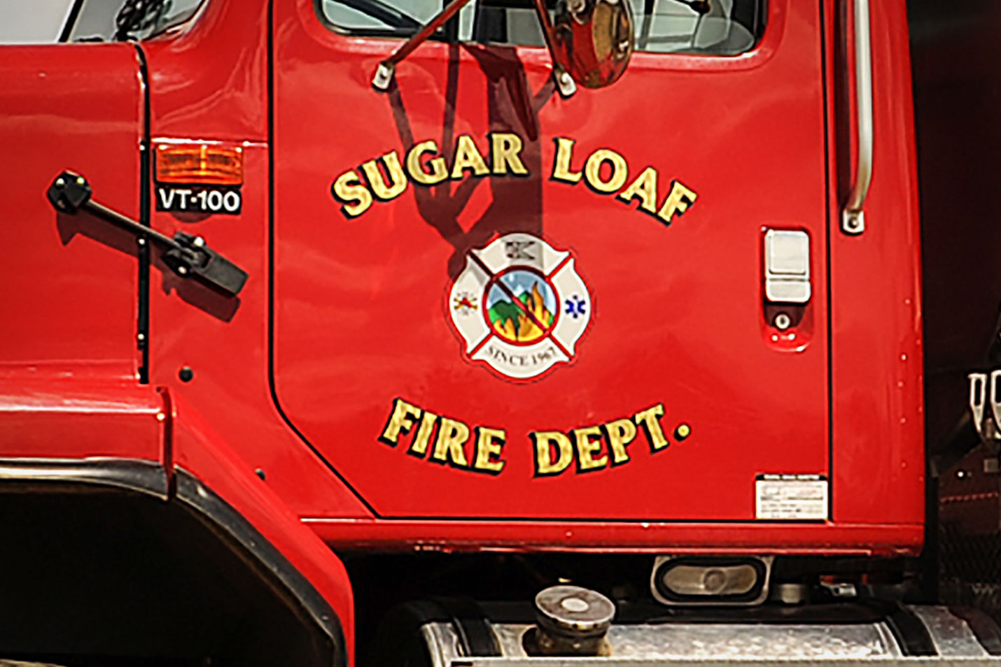 Photo: Sugar Loaf Fire District | Truck Logo - Courtesy