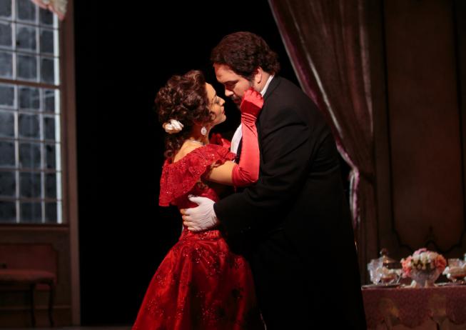 """<p>A scene from Opera Colorado's """"La Traviata.""""</p>"""