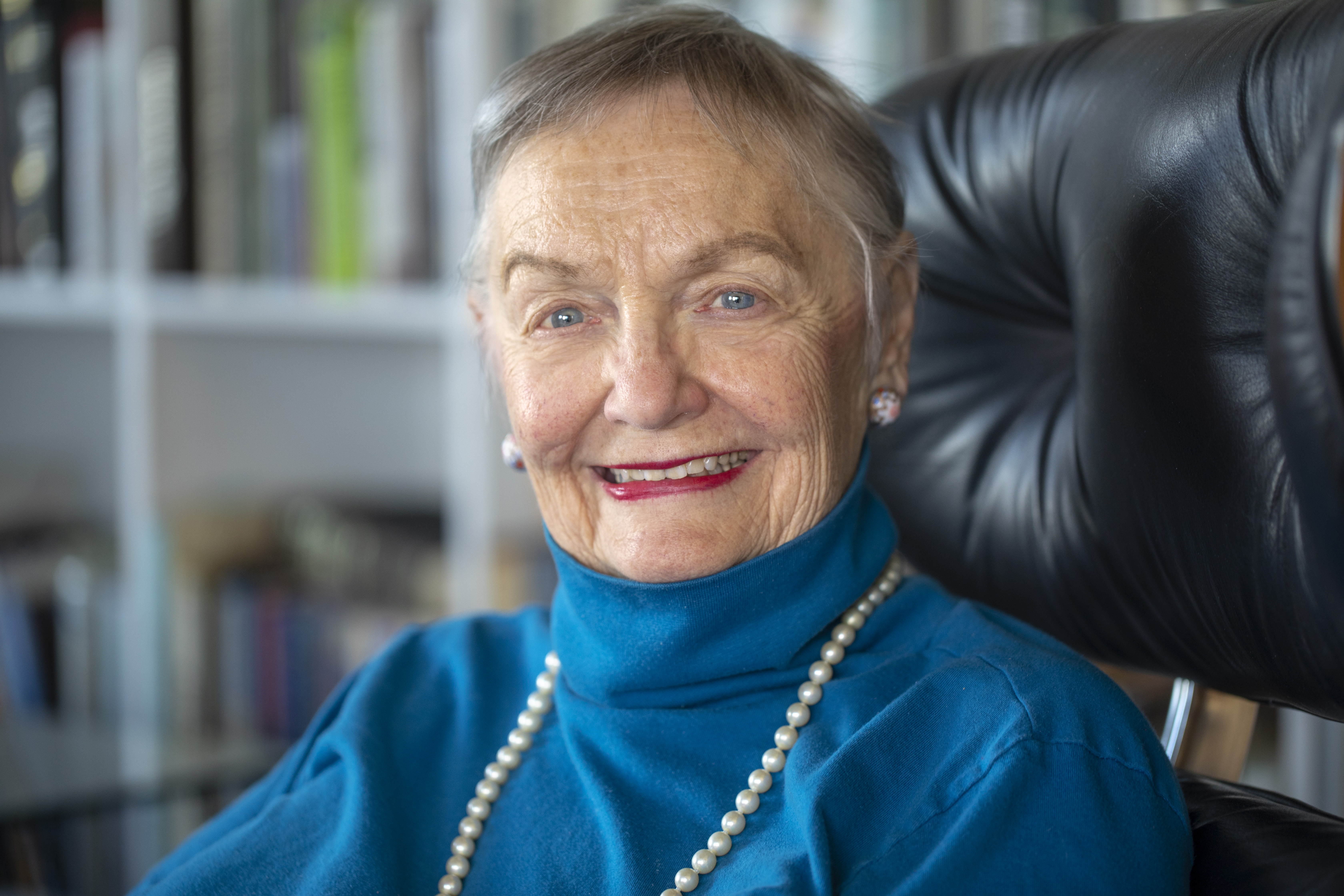 <p>In the last month Dana Crawford celebrated her 87th birthday and received the Governor's Citizenship Medal.</p>
