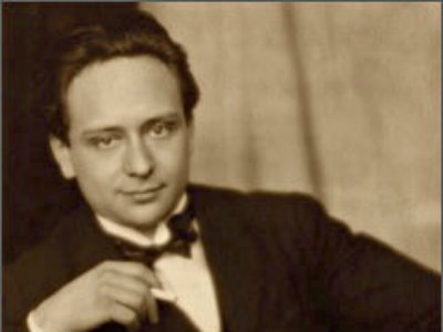 Photo: Viktor Ullmann, composer and pianist