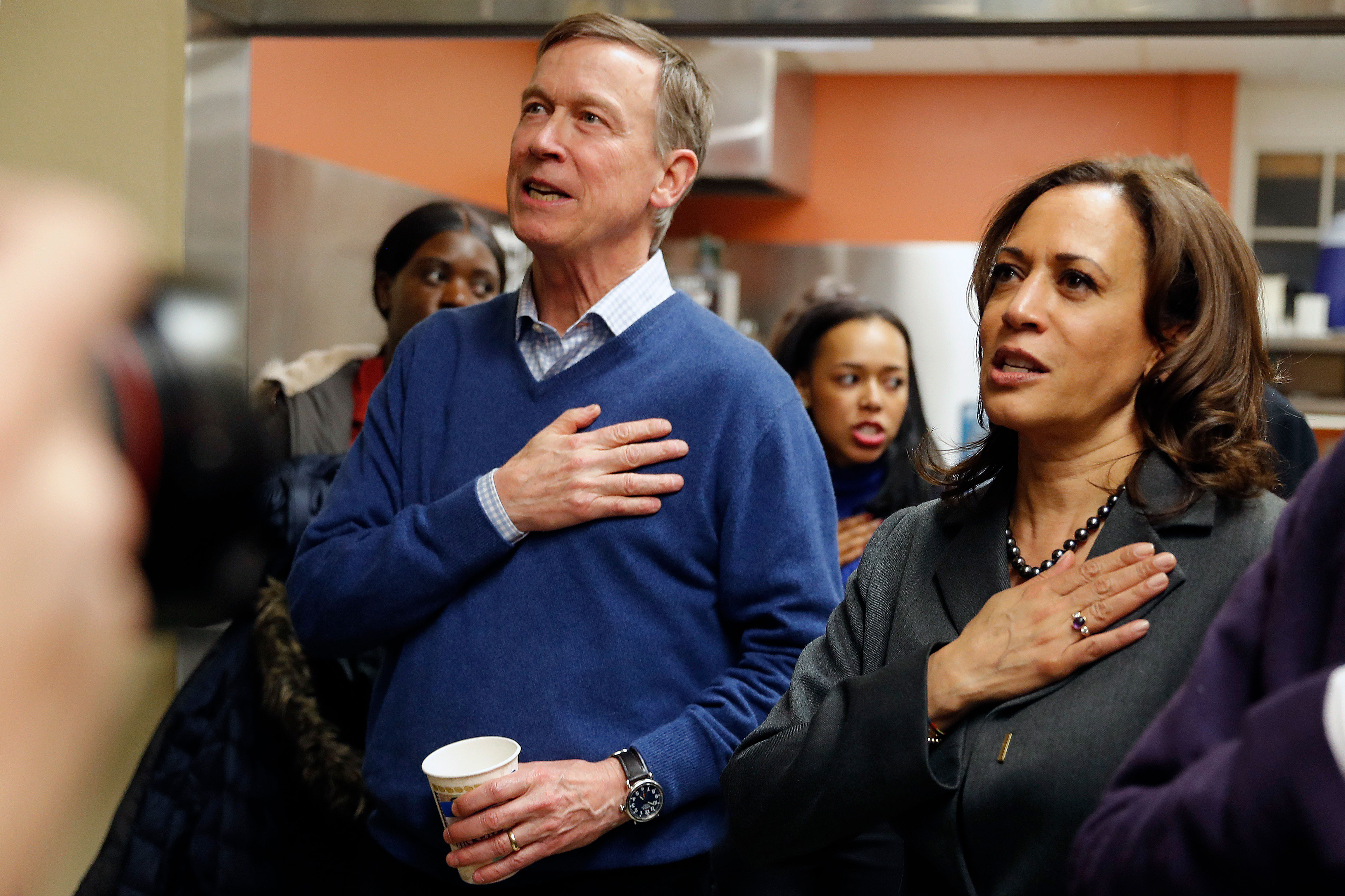 Photo: Hickenlooper-Bennet Iowa Politicking 1| Hickenlooper & Harris - MP
