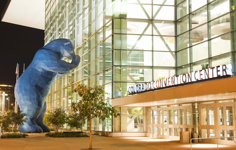 Photo: Colorado Convention Center Blue Bear