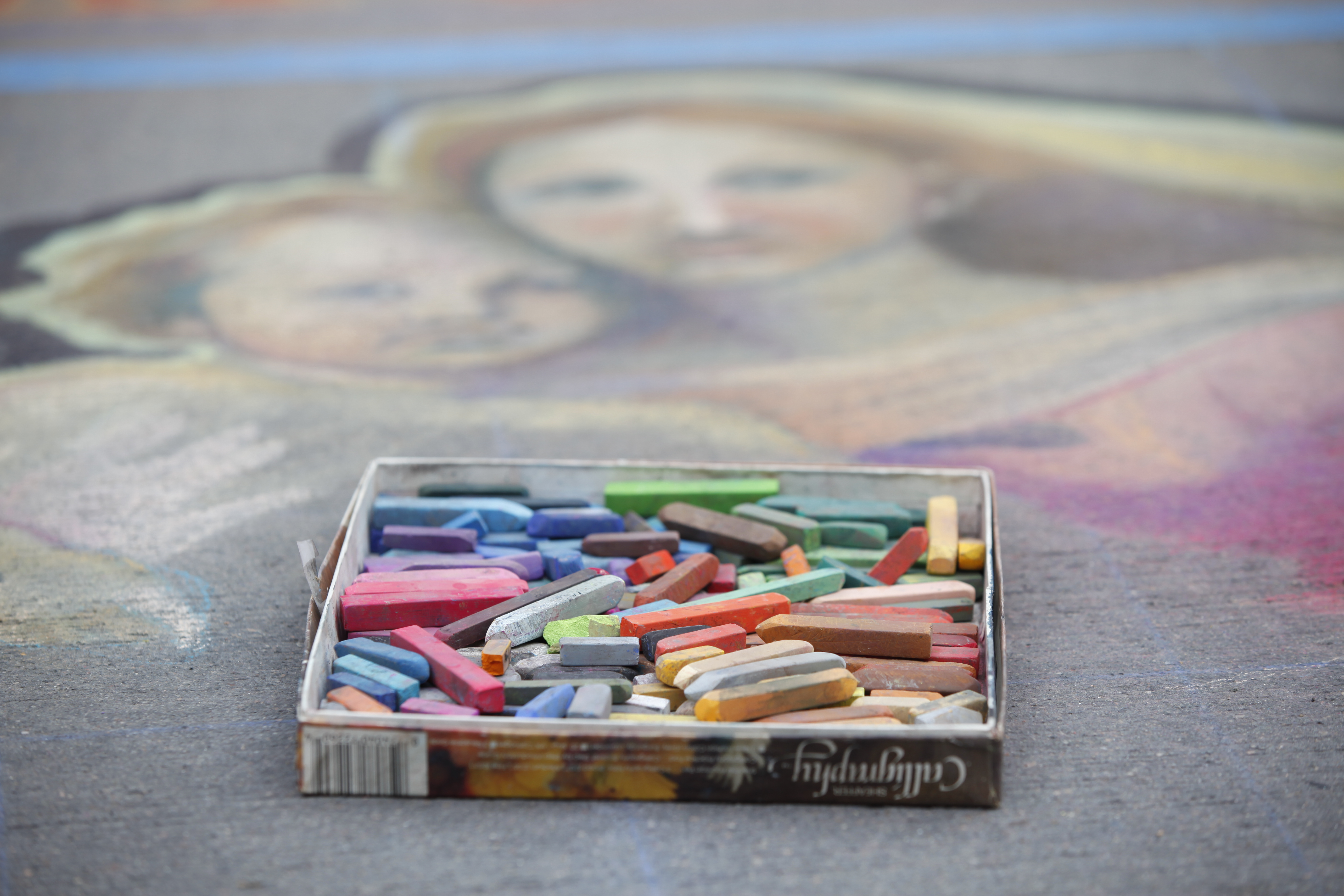 Photo: Denver Chalk Art Fest 2