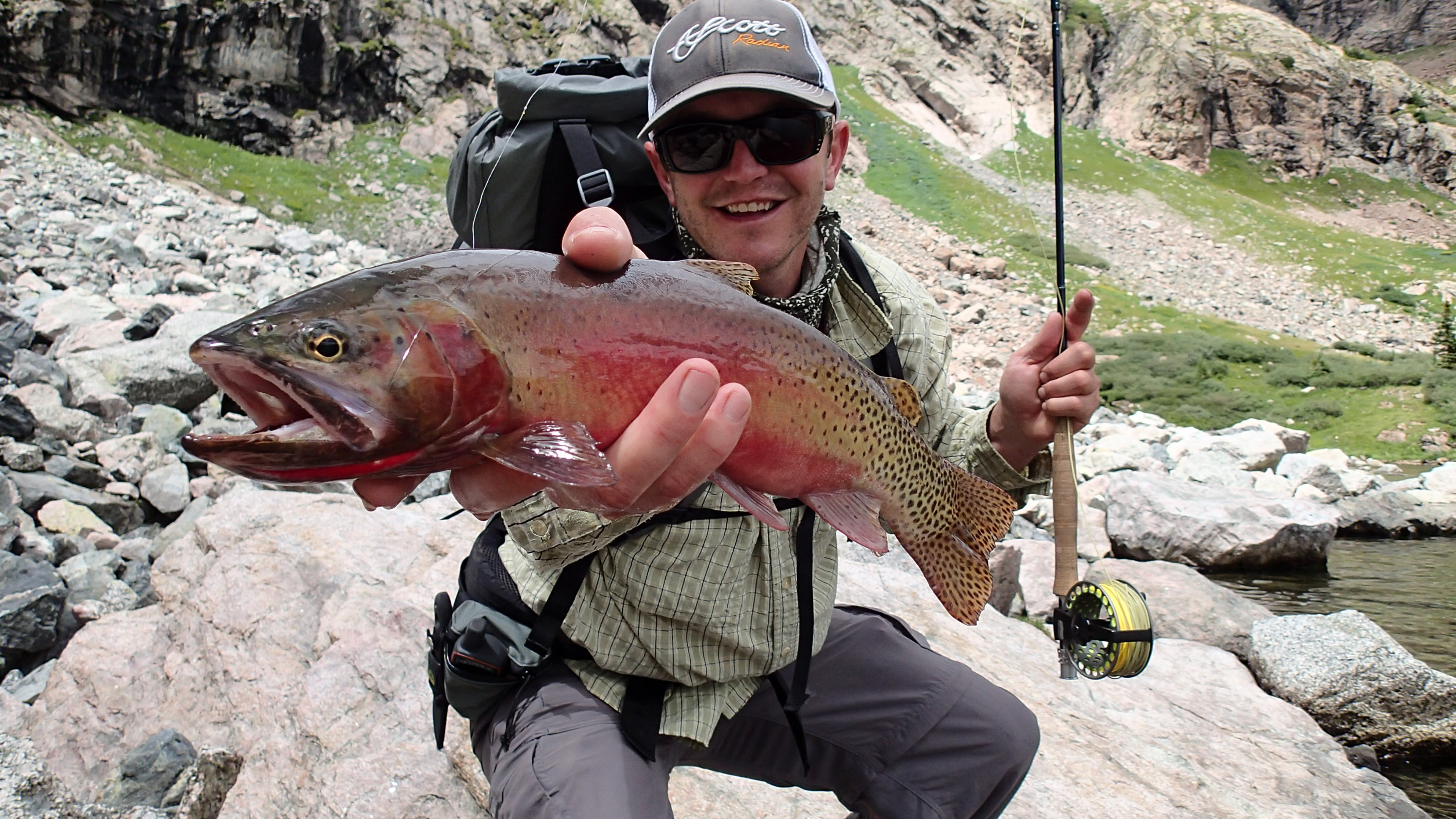 Photo: Sand Dunes 5 | Kevin Terry Holds Trout
