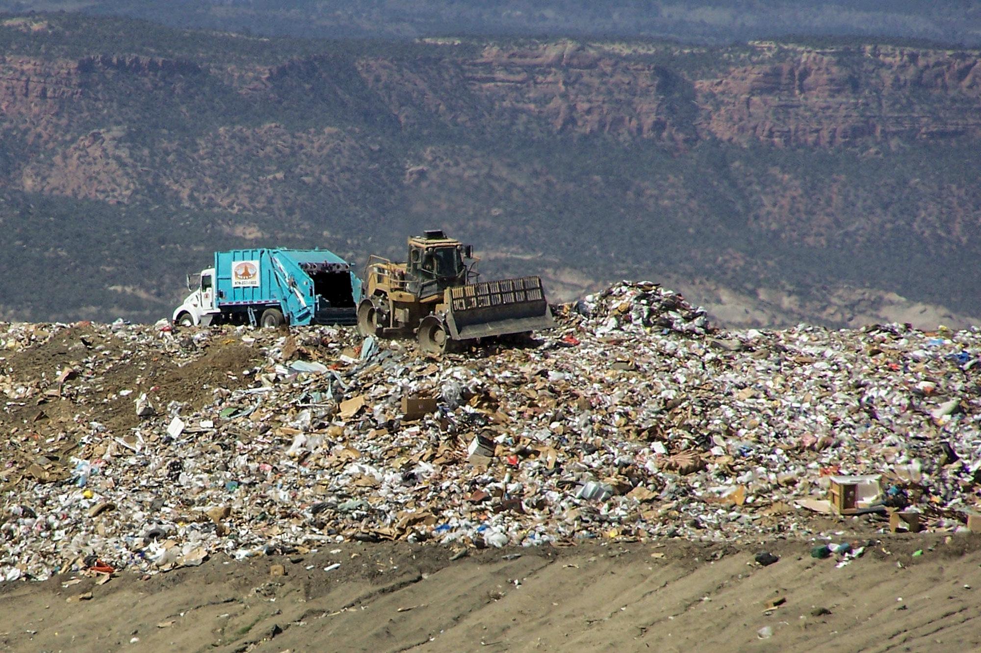 Photo: Landfill | Mesa County - Courtesy