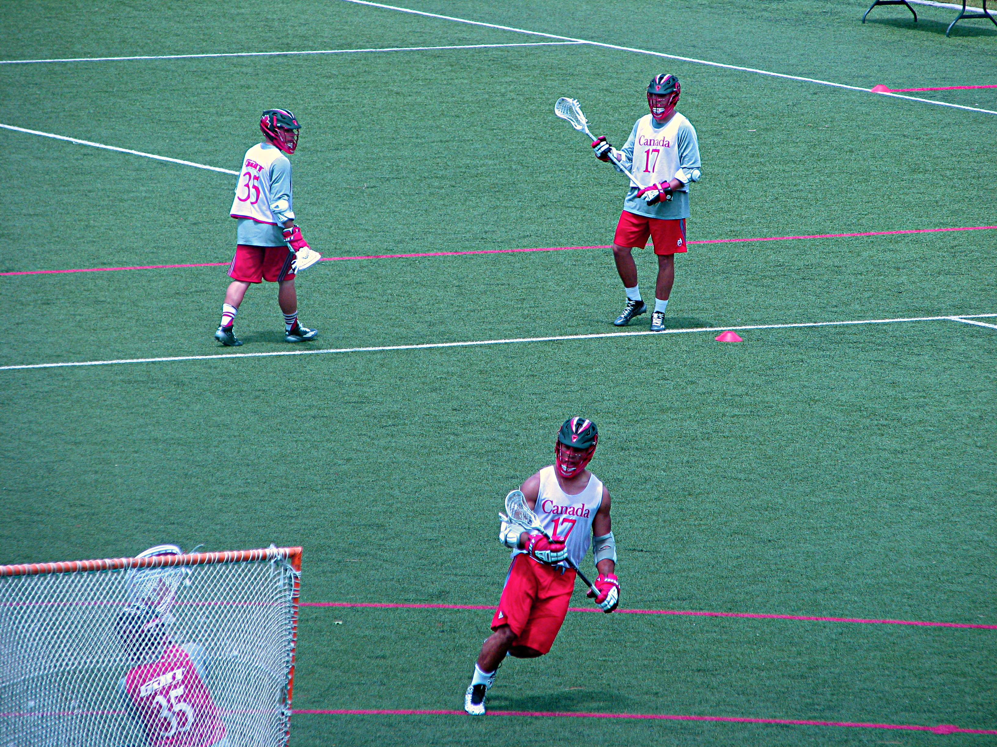 Photo: Canadian lacrosse team