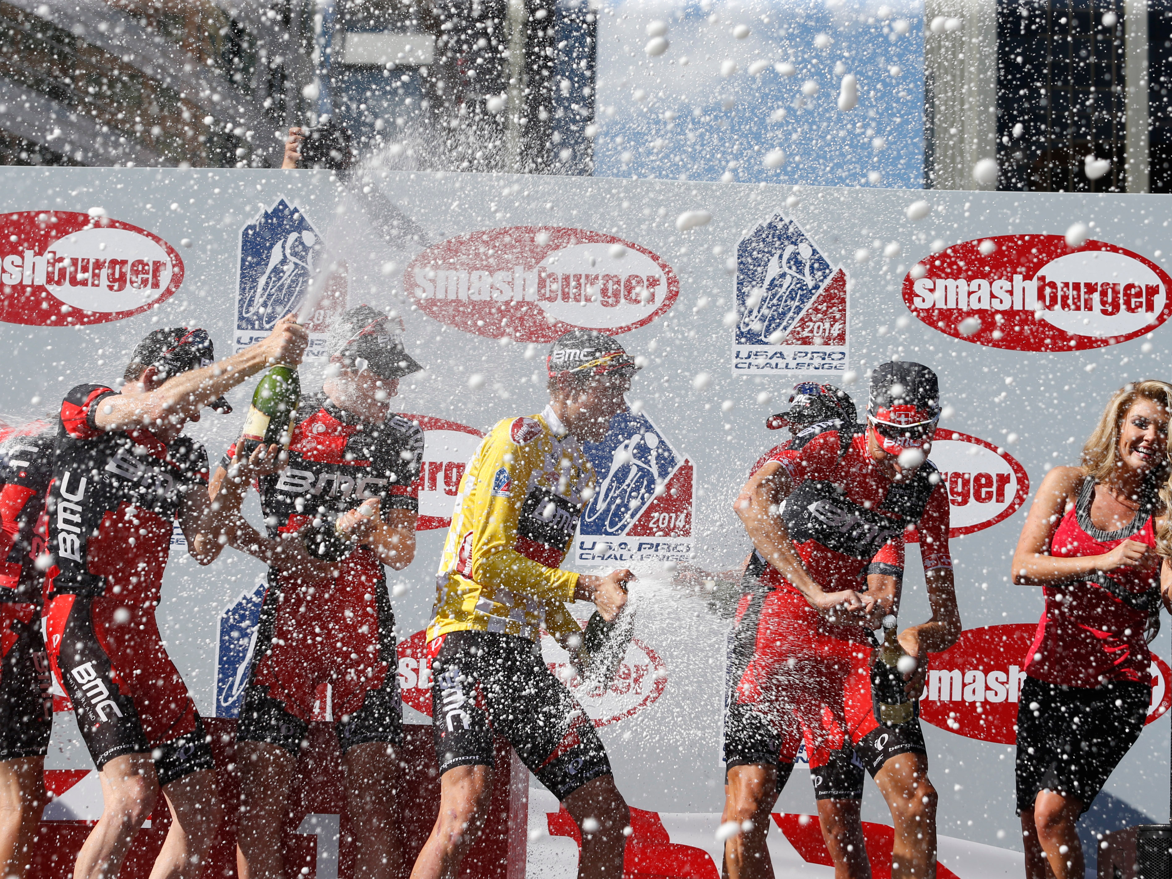 Photo: USA Pro Challenge winners celebrate