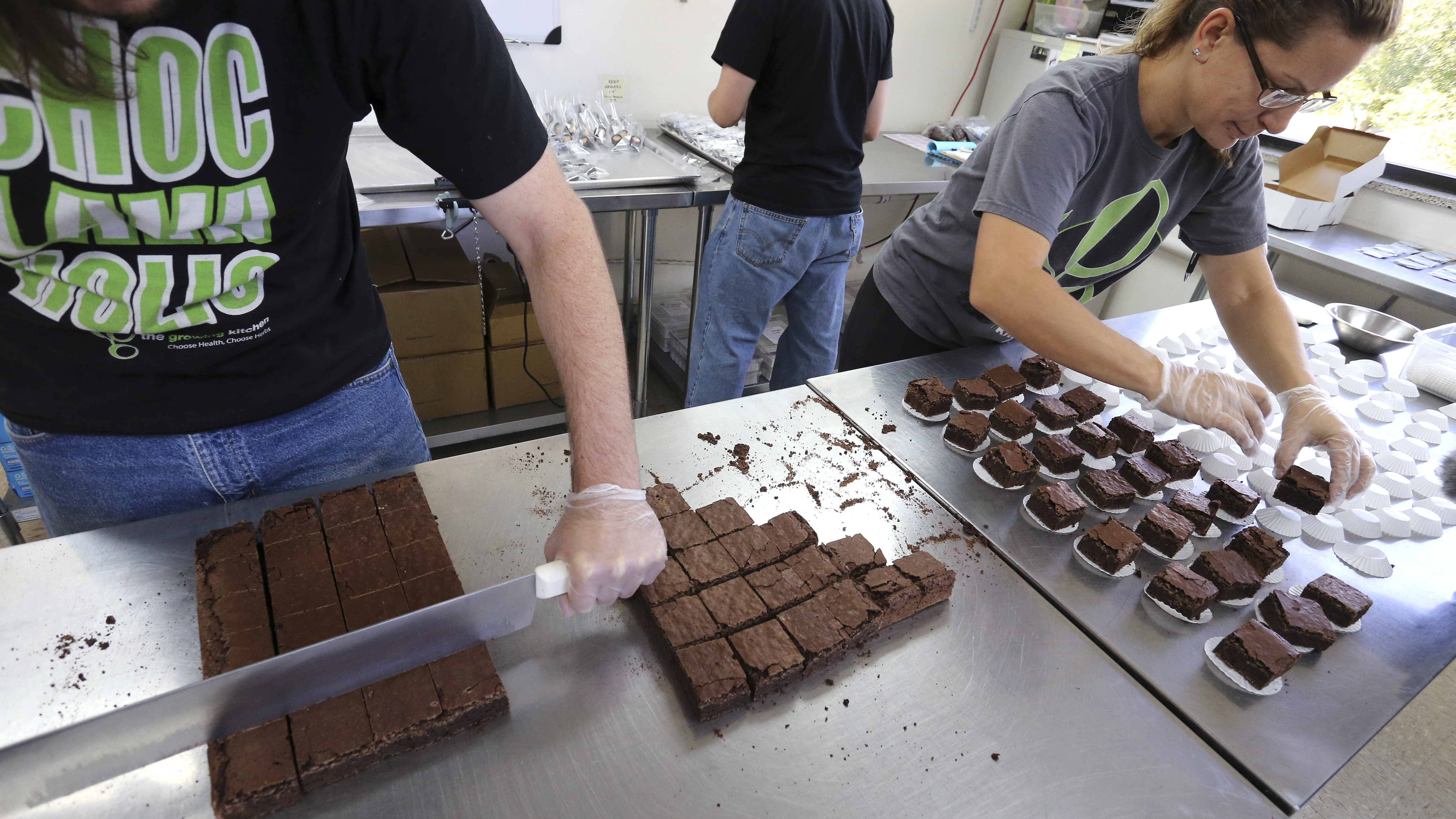 Photo: Pot brownies (AP Photo)