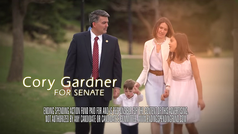 Photo: Cory Gardner PAC advertisement