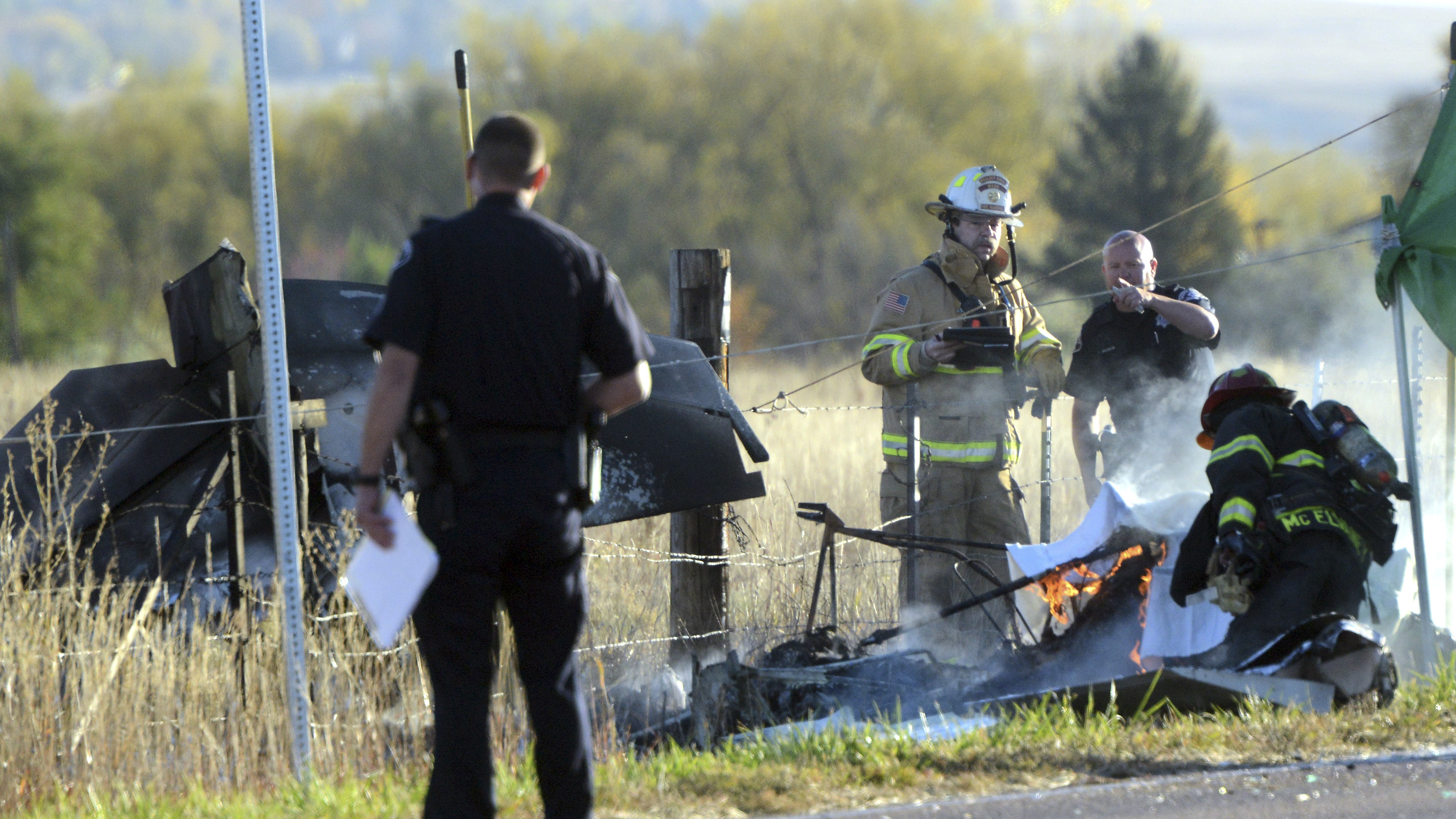 Photo: Boulder airplane crash