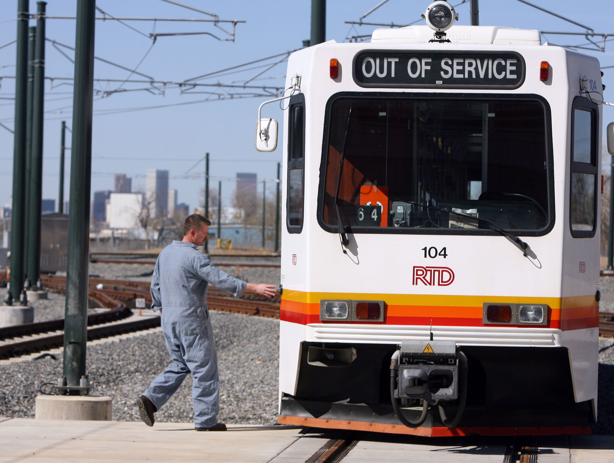 Photo: RTD light rail car