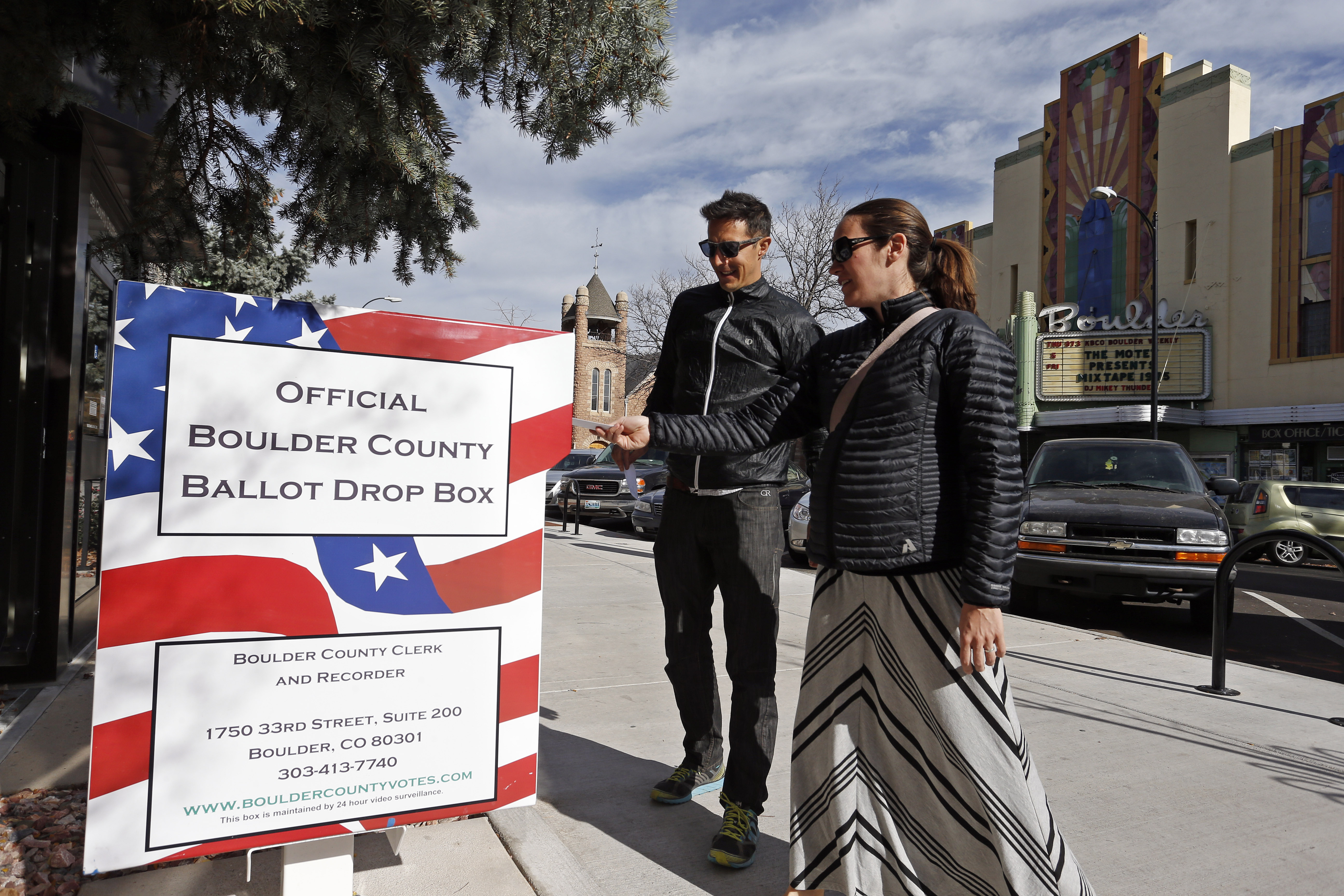 Photo: Voting by mail (AP Photo)