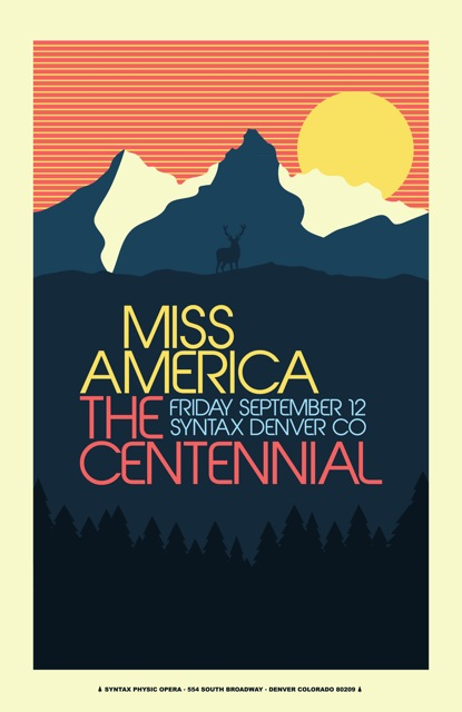 photo: Miss America poster