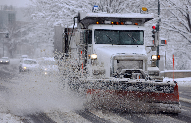 City of Denver snowplow