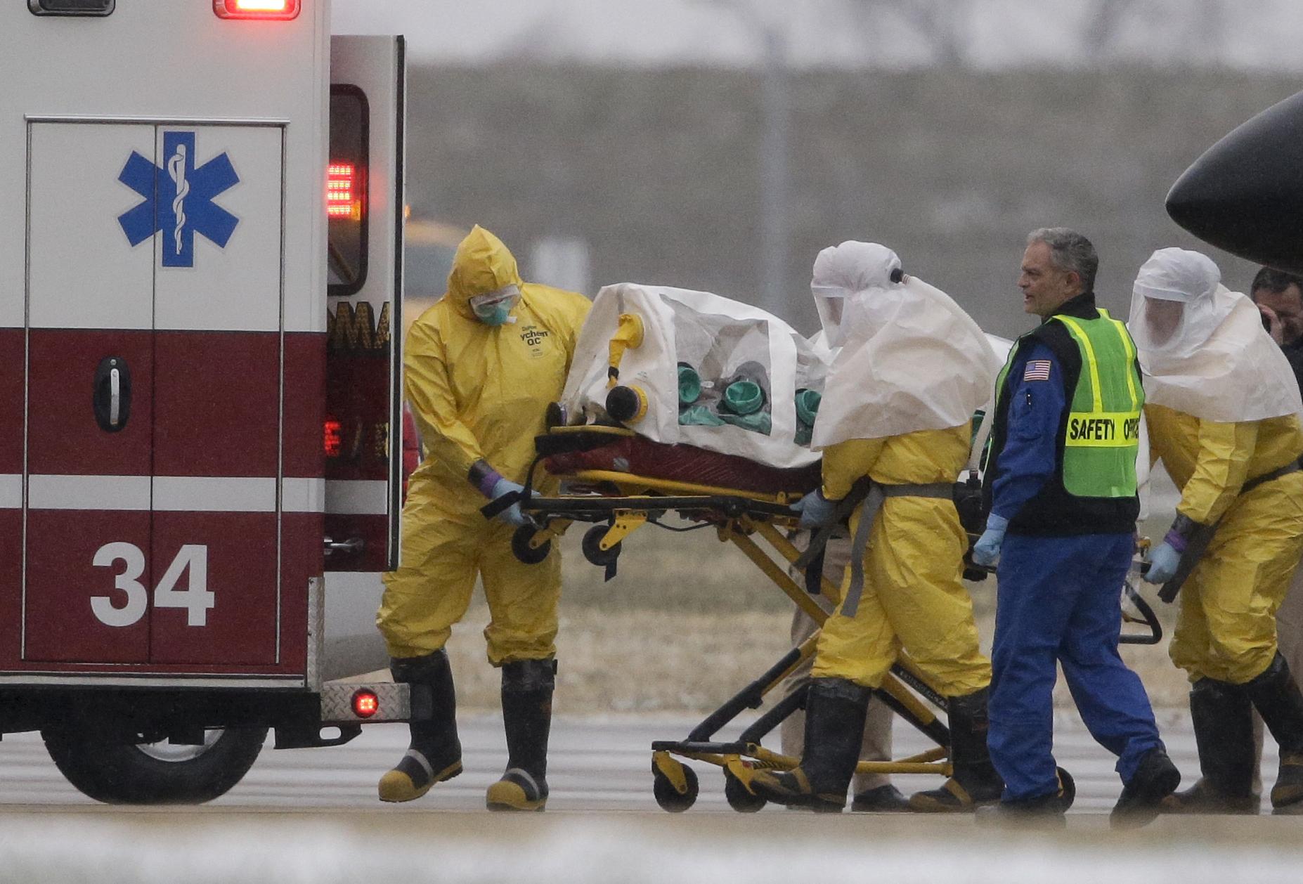 Photo: Ebola patient (AP Photo)