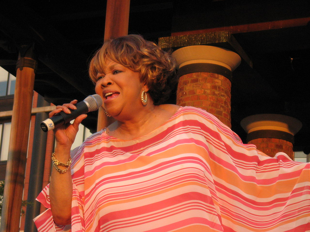 Photo: Mavis Staples on stage