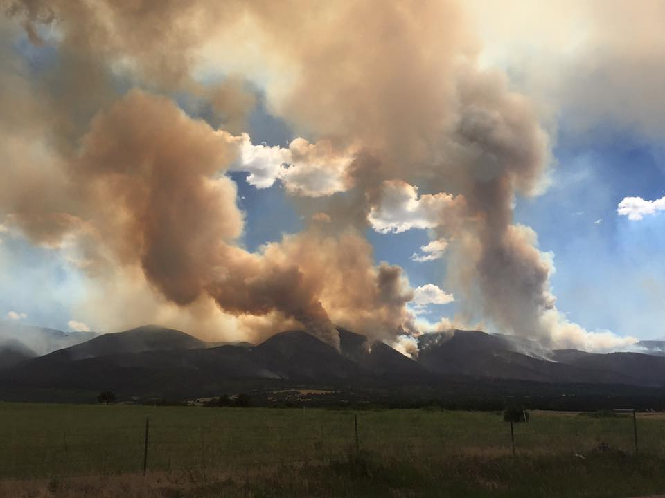 Photo: Hayden Pass Fire 3