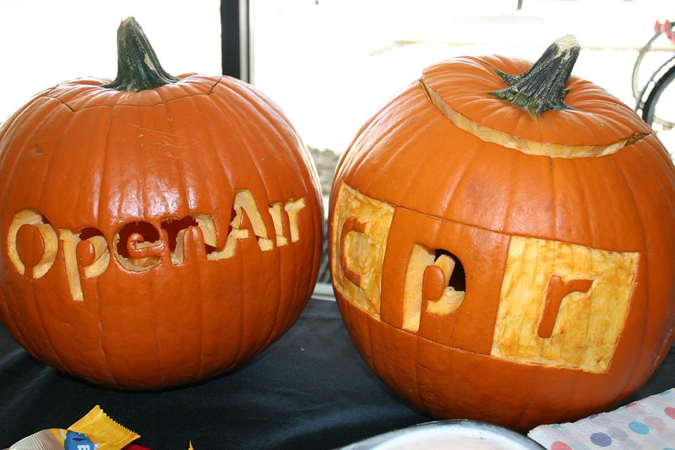 Photo: OpenAir CPR pumpkins