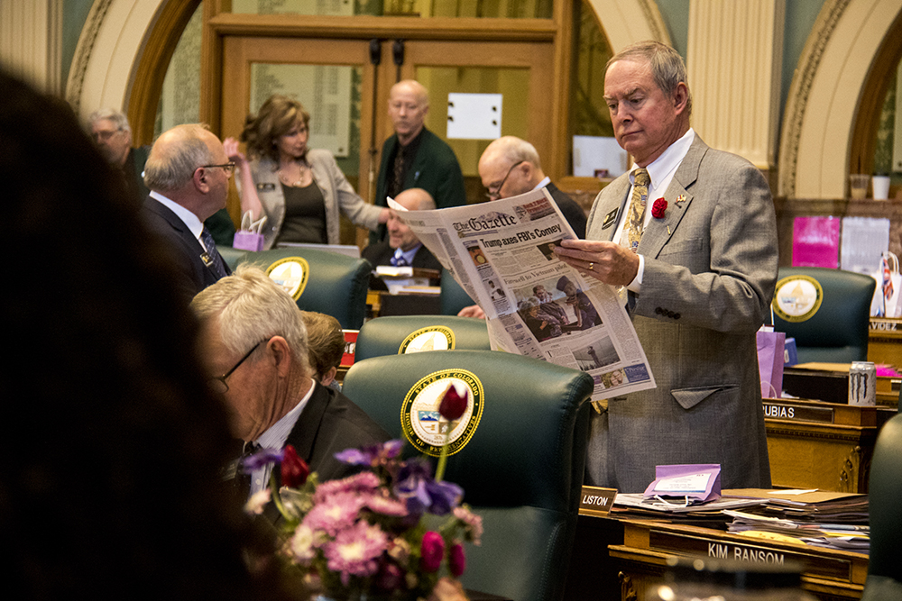 Photo: COLEG 2017 | Larry Liston Sine Die - KBeaty