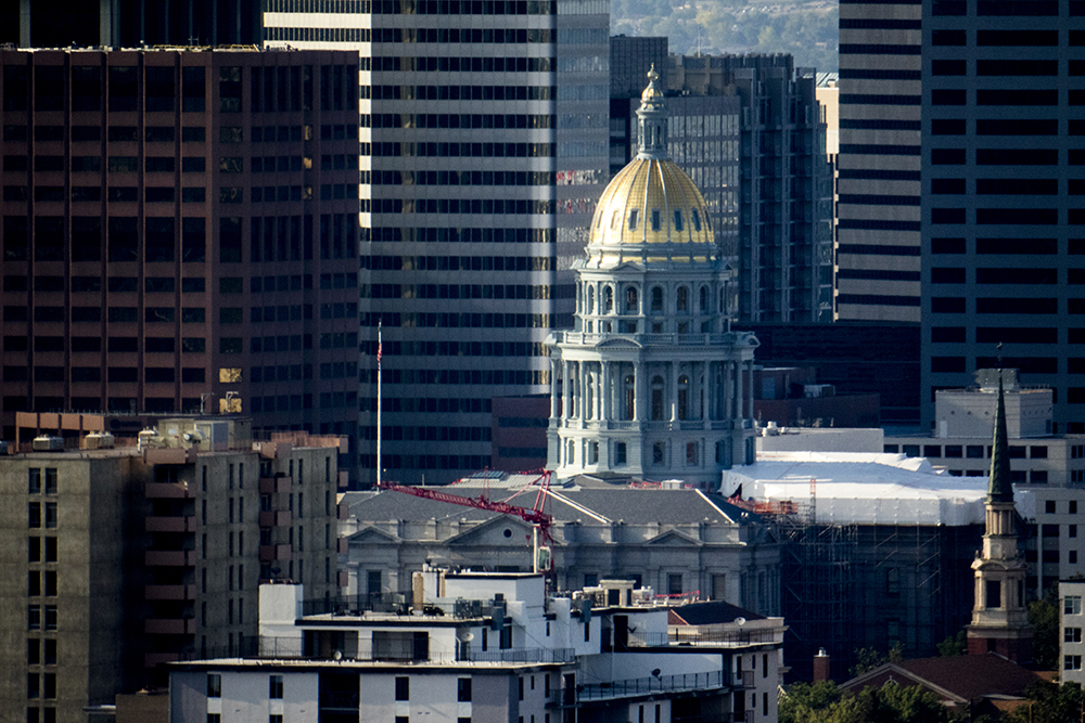 Photo: Colorado Capitol Building 2017 | View from Country Club Towers - KBeaty