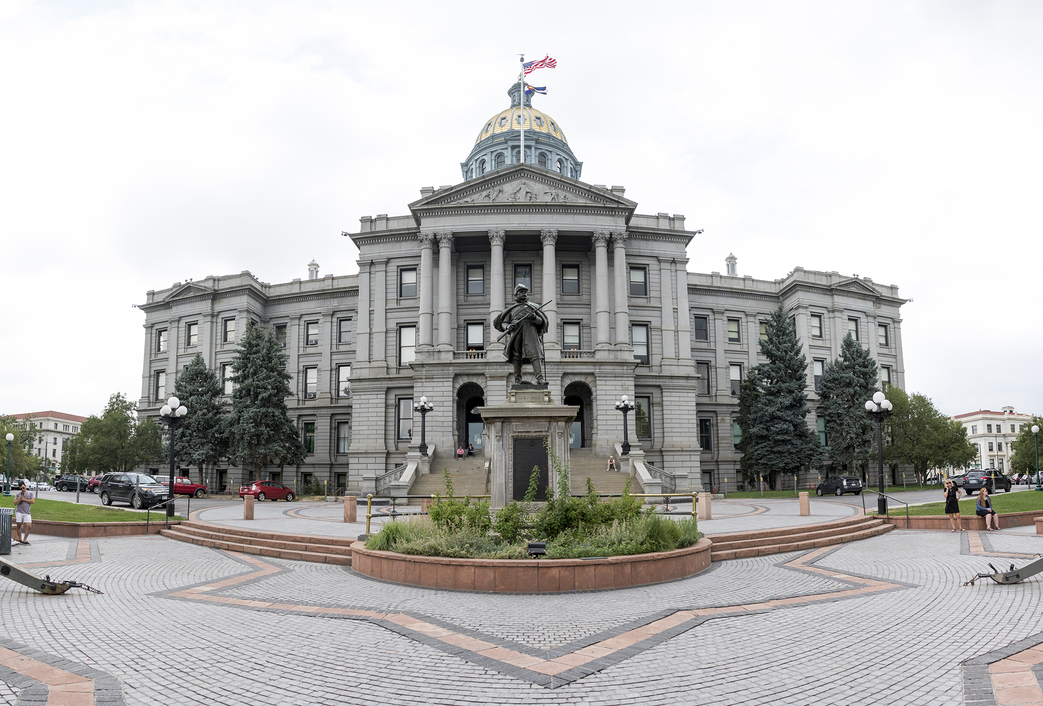 Photo: Colorado Capitol Building 2018 | West Front - KBeaty - DO NOT REUSE