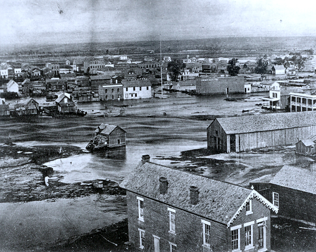 Photo: Great Flood of 1864 2