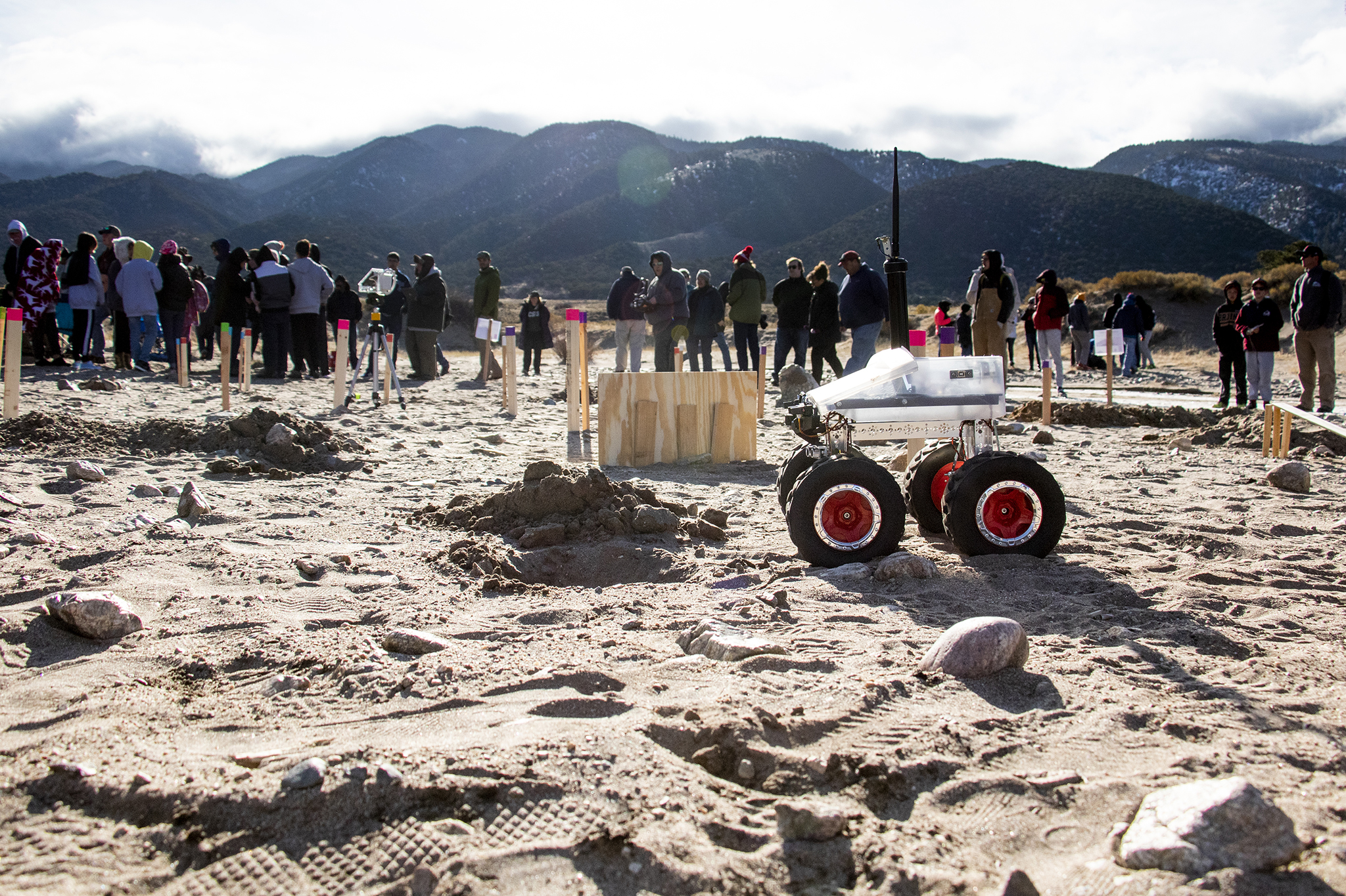 Photo: Great Sand Dunes | Robot Students 3