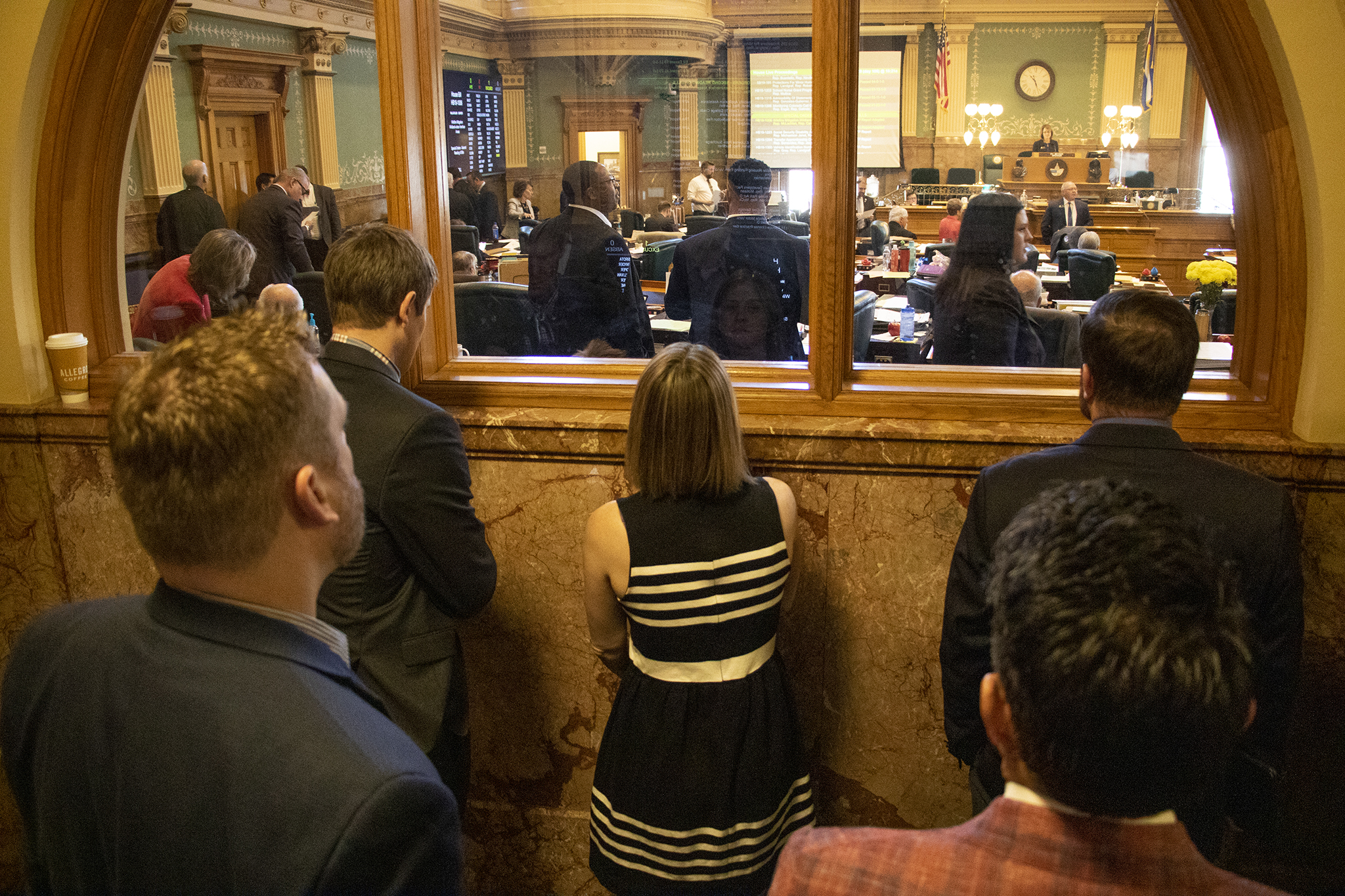 Photo: COLEG 2019 Lobbyist Complaint | Watching At Colorado Capitol — KBeaty