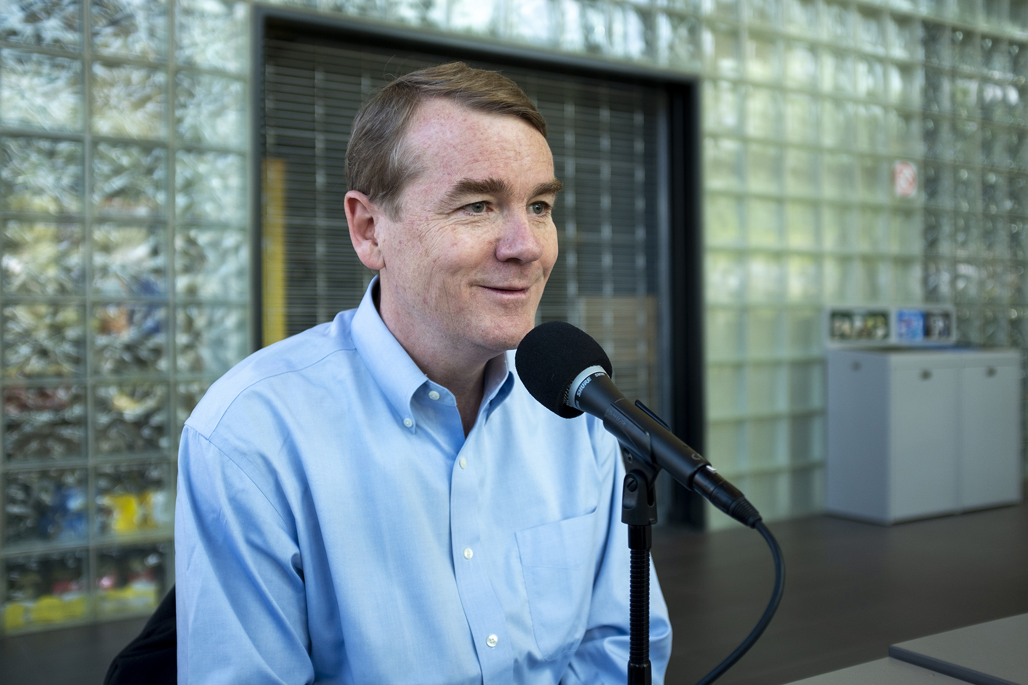 Photo: Michael Bennet Interview with Colorado Matters- Beaty