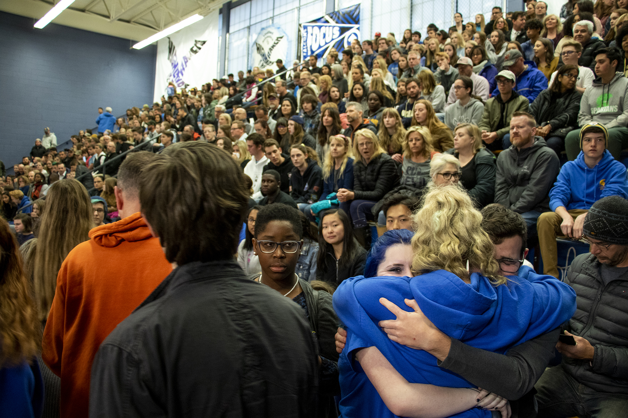 Photo: STEM School Highlands Ranch shooting vigil
